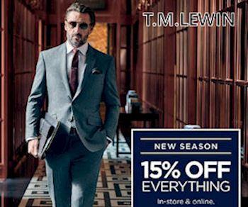 TM Lewin Nov 18 Disc Life