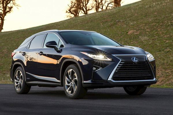 Lexus RX 450h SUV 4wd Lease Deal